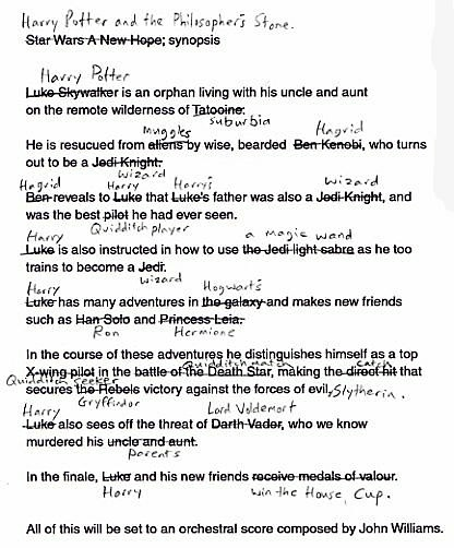Script do Harry Potter